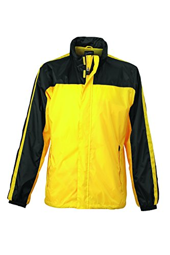 Jacket Squadra E Weather Team yellow Impermeabile Giacca Funzionale Black cBq1gWfg4Z
