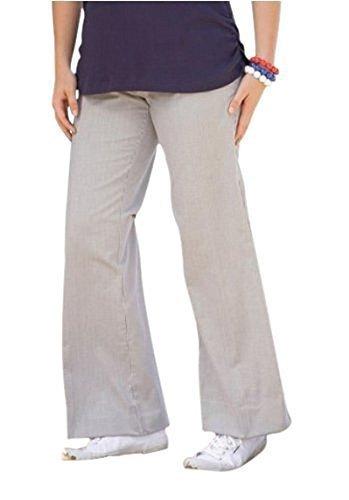 Pantalon en Diseño de refuerzo desde casa Heine - Azul / Blanco azul / blanco