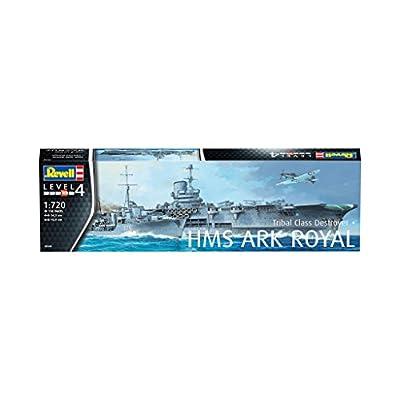 Revell of Germany 05149 HMS Ark Royal & Tribal Destroyer: Toys & Games