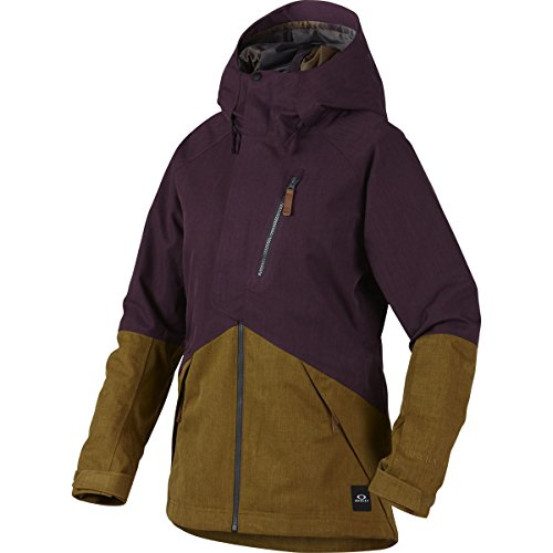 Oakley Women's Spellbound 2 L Gore BZI Jacket, Small, Deep Plum