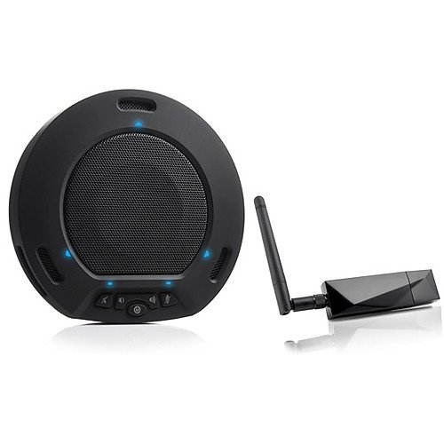 HuddleCamHD Black HuddlePod Air Wireless USB Speakerphone by HuddleCamHD