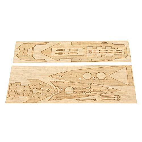 - Wood Deck Sheet Stickers for Trumpeter 05302 1:350 Battle Cruiser HMS Hood Model
