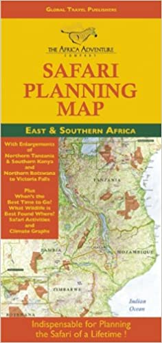 Safari Planning Map to East and Southern Africa: Okavango Delta to on characteristics of a map, basic components of a map, parts of a map, mind tools mind map, key components of a map,