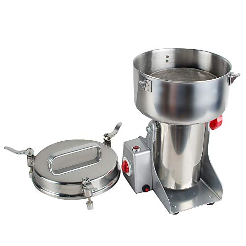 Stainless Steel Electric Herbal Medicine Grinder 1000g Portable Household Chinese Medicial Grains Spice Powder Milling Machine Kitchen for Mom, Wife by Fencia (Image #5)