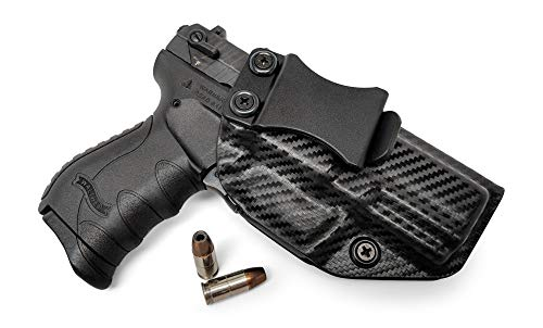 Concealment Express IWB KYDEX Gun Holster: fits Walther PK380 - Custom Molded Fit - US Made - Inside Waistband Concealed Carry Holster - Adj. Cant & Retention