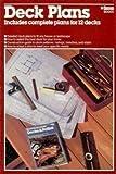 Deck Plans, Bob Beckstrom, 0897210433