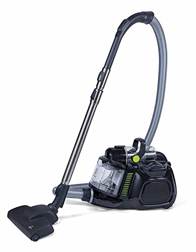 Electrolux EL4021A Silent Performer Bagless Canister Vacuum with 3-in-1 Crevice Tool and HEPA Filter, Black