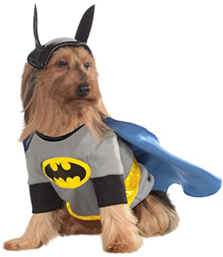 Matching Dog Costumes (DC Comics Pet Costume, X-Large, Batman)