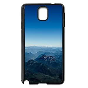 Mountains Aerial View iOS7 Samsung Galaxy Note 3 Cell Phone Case Black phone component AU_554127