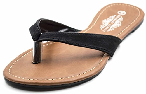 Charles Albert Womens Basic Thong Flip Flop Sandal