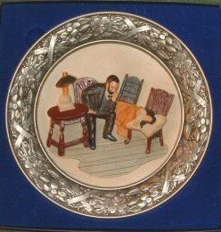 Sebastian Miniature Collector Plate The Doctor 1980 Figurine