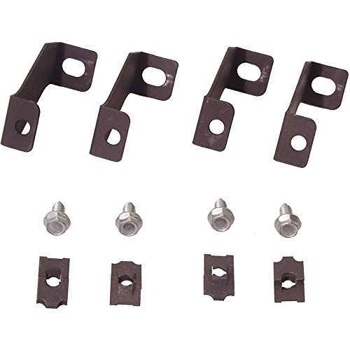 MACs Auto Parts 44-383497 Mustang Fan Shroud Brackets 3 ()