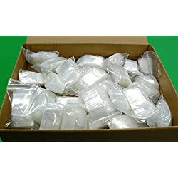 "10,000 ZIPLOCK 1"" x 1"" BAGS 2MIL ZIP LOCK SMALL 1x1 MINI BAGGIES BULK 1000 PCS (LZ 3.15 M BOX) NOVELTOOLS"
