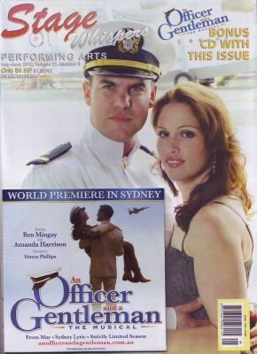 An Officer and a Gentleman - Original Australia Cast Promo CD plus Magazine Stage Whispers (2012-08-03)