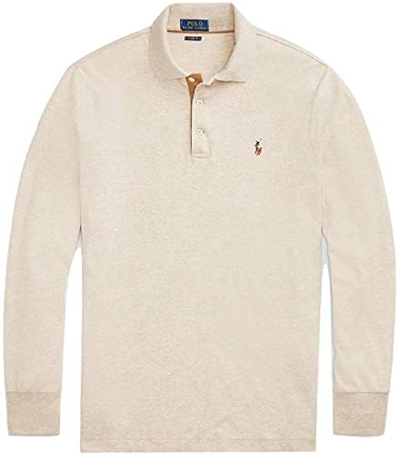 Polo Ralph Lauren Mens Classic Fit Soft Cotton Interlock Polo Shirt