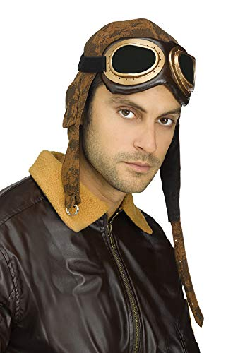 Aviator Hat - Fun World Men's Aviator Cap with
