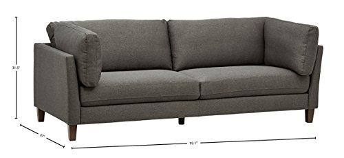 Rivet Midtown Removable Cushion Modern Loveseat, Sofa -  - sofas-couches, living-room-furniture, living-room - 41QDU 90MdL -