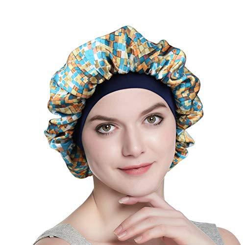 Satin Sleeping Cap for Girls Women Turban Comfortable Headband Slouchy - Child Cap Womens