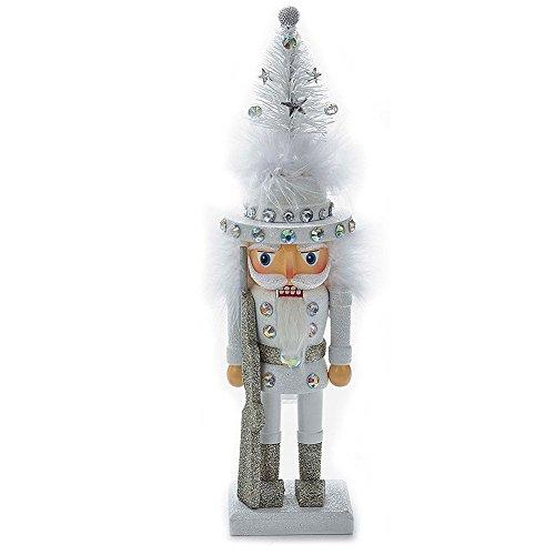 Christmas Nutcracker Hollywood Silver w Gems 10H CHRISTMAS-TREE Hat