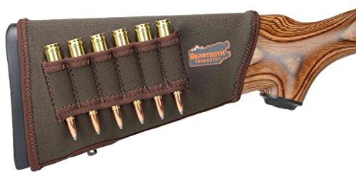 Beartooth StockGuard 2.0 - Premium Neoprene Gun Stock Cover - Rifle Model (Brown) ()