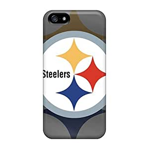 Fashionable QcR3052YPaB Iphone 5/5s Cases Covers For Pittsburgh Steelers Protective Cases