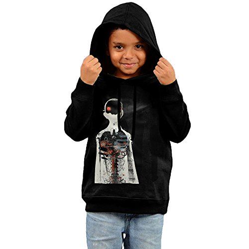 [FGFD Kid's Three Days Grace Boy's & Girl's Hoodies Black Size 5-6 Toddler] (In Stock Hip Hop Costumes)