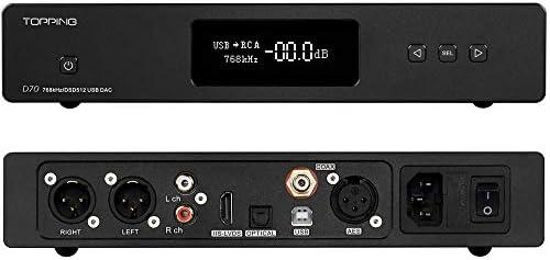 Topping D70 DAC AK4497*2 XMOS XU208 USB DSD512 Native 32Bit