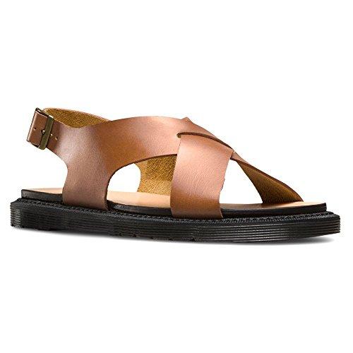 Dr. Martens Women's Abella Ankle Strap Fashion Sandals, Oak, 9 M UK, 11 M US
