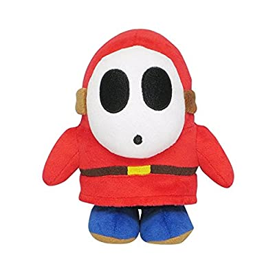 "Little Buddy Super Mario All Star Collection 1591 Shy Guy Stuffed Plush, 6.5"",Multi-colored: Toys & Games"