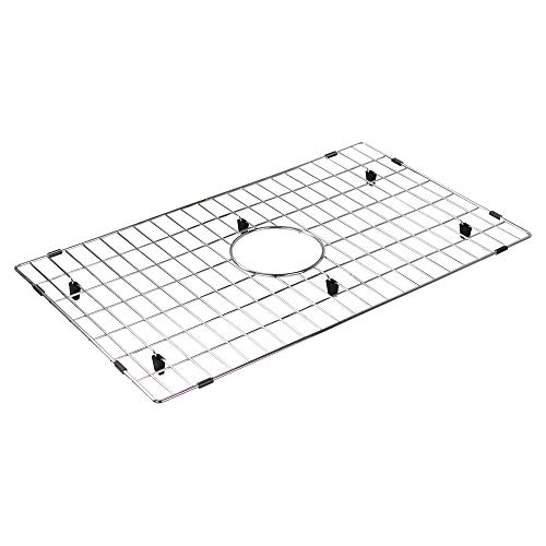 Bottom Grid Inch 1 (Transolid TSGF30201 Bottom Sink Grid, 24.5-in L x 14.5-in W x 1-in H, Stainless Steel)