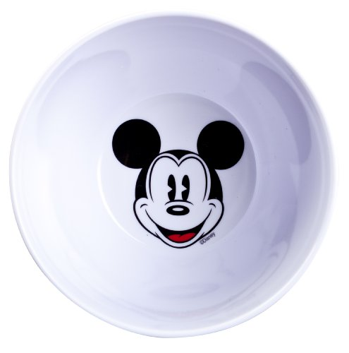 Planet Zak! Good to Go Mickey Mouse Two-Tone Round Bowls, 11-Ounce (Round Mouse Mickey)