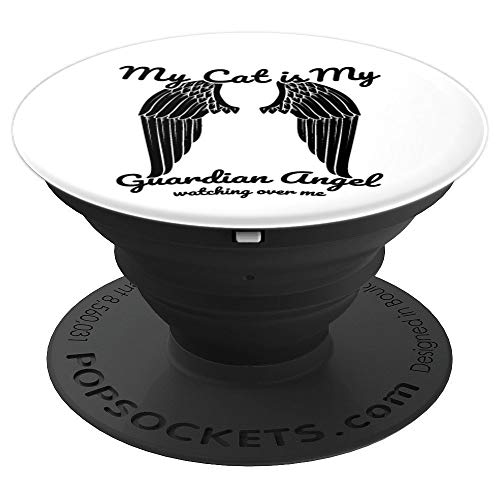Cat Grief Condolence Bereavement Grieving Gifts - PopSockets Grip and Stand for Phones and Tablets
