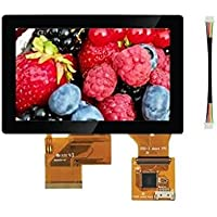 Display Development Tools 5 INCH 800 x 480 PCAP MULTI TOUCH LCD PANEL INCLUDING TOUCH CABLE