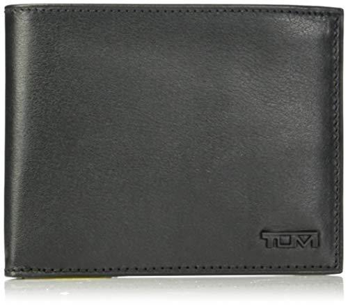 Tumi Men's Delta Global Double Billfold, Black, One Size