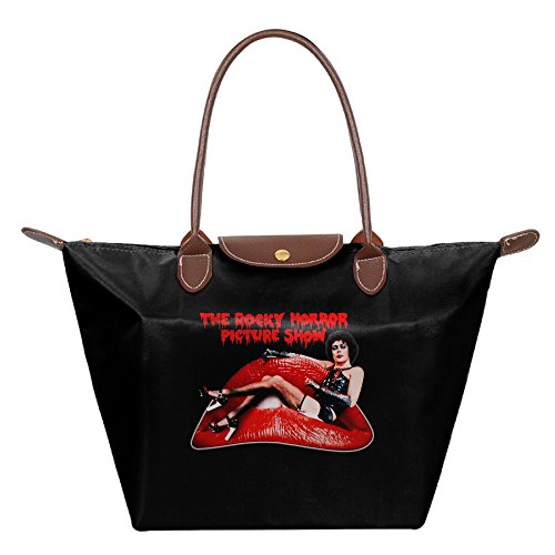 [FALKING Women's The Rocky Horror Picture Show Waterproof Totes Messenger Bags For Beach Shopping With] (Tim Drake Costume)