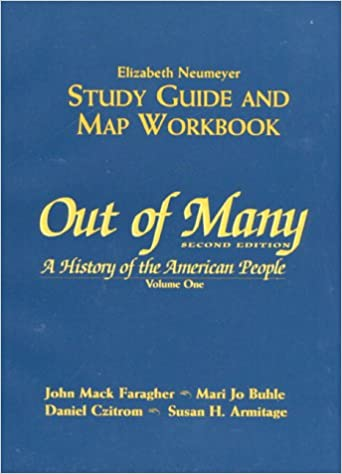 Out of many: study guide, vol. 1: elizabeth neumeyer.
