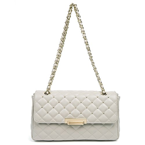 Quilted Small Handbag - 8