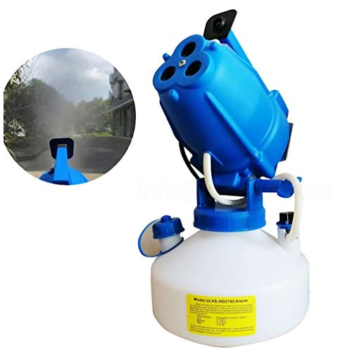 YUI Electric Sprayer Portable Fogger Machine Disinfection Machine for Garden Hospitals Home Capacity Spray Machine, Adjustable Angle 3 Nozzles, for Hospitals, Hotel, School