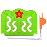 Qianle Baby Bed Guard Foldable Kids Bedrail Toddler Safety Fence Bed Rail 1 Piece Green S