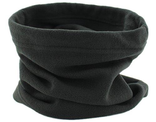 BONAMART ® Winter Fleece Neck Warmers Snood Scarf Mask Hat Sport Outdoor (Fleece Snood)