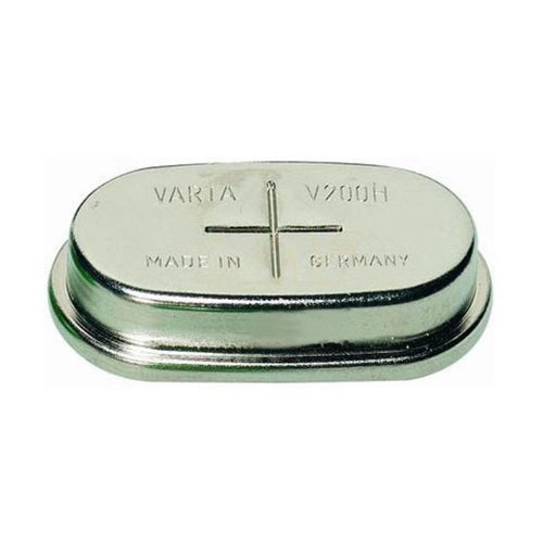 Varta V200H 1.2V 200mAh NiMH Button Cell Battery 55620101501 200 Mah Nickel Metal