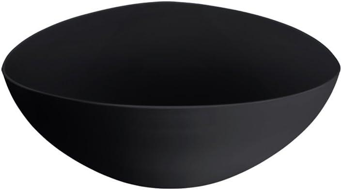 1 pc COZA DESIGN 10131//0008 Cocina Essential Plastic Salad Bowl Black