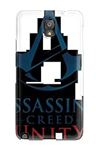 New EKwAHcI2016ZqxzQ Assassins Creed Unity Tpu Cover Case For Galaxy Note 3