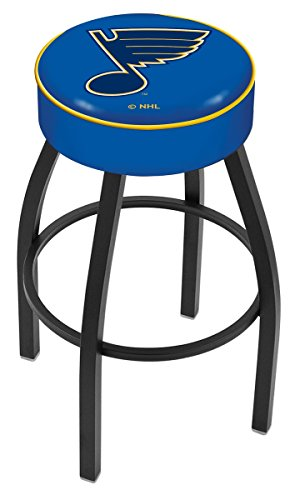 Holland Bar Stool NHL L8B1 St Louis Blues Swivel Counter Stool, 25