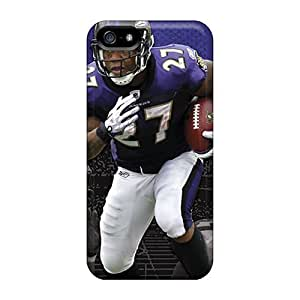 First-class Case Cover For Iphone 5/5s Dual Protection Cover Baltimore Ravens