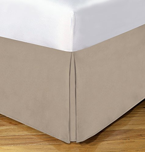 Today's Home Cotton Blend Bed Skirt Dust Ruffle Classic Tailored Styling 14