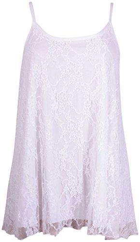Purple Hanger - Camiseta sin mangas - para mujer blanco