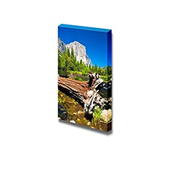 Canvas Prints Wall Art - El Capitan Rock and Merced River in Yosemite National Park,California - 24
