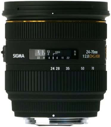 Sigma 24-70mm F2.8 If EX DG HSM pour Nikon