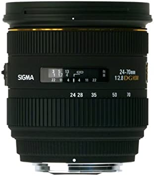 Sigma 24-70mm f//2.8 IF EX DG HSM AF Standard Zoom Lens for Sony Digital SLR Cameras